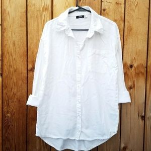 UO BCG button down collard top